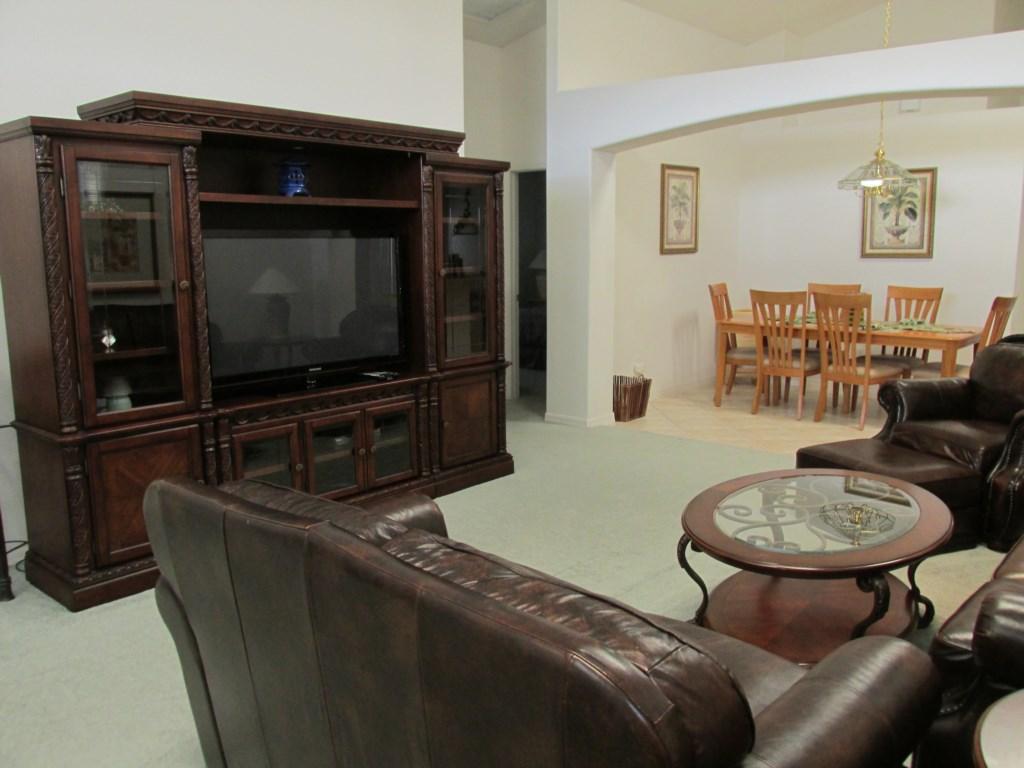 Entertainment Center in Living room