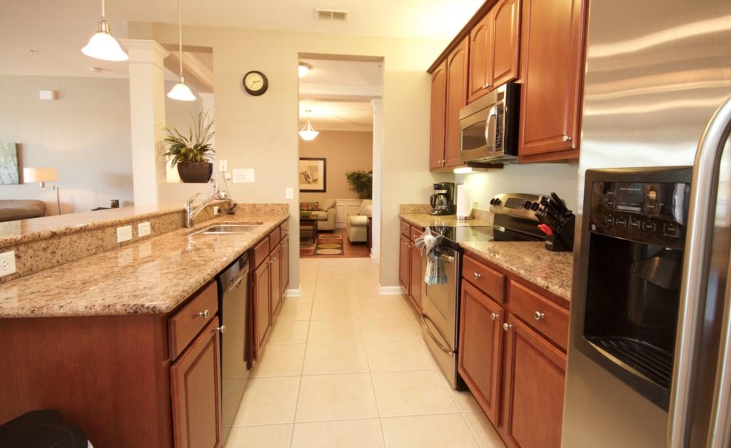 Kitchen with Plenty of Work Space