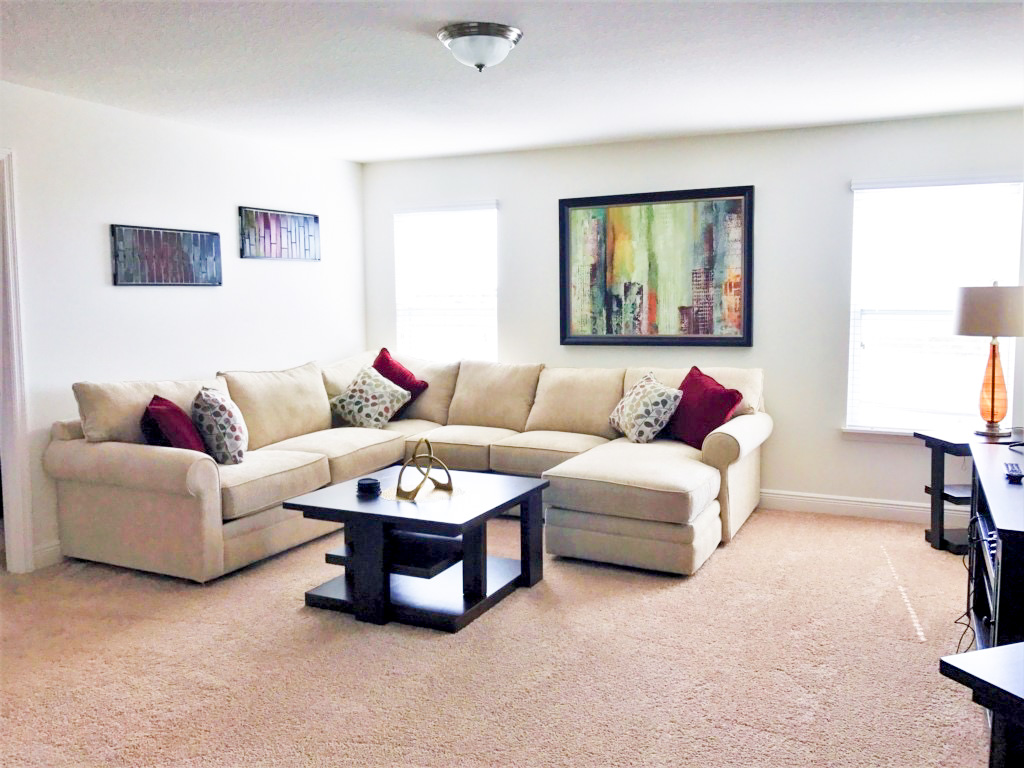 Another view of the second living room!