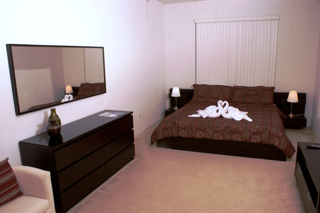 MasterBedroomVacationHomeFlorida