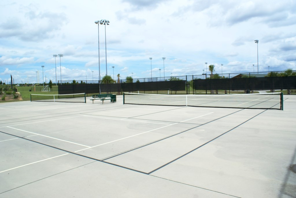 Luxury Tennis Court