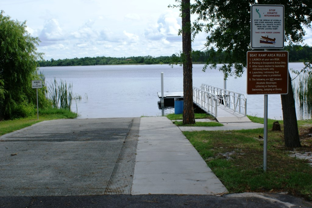Spacious Boat Ramp