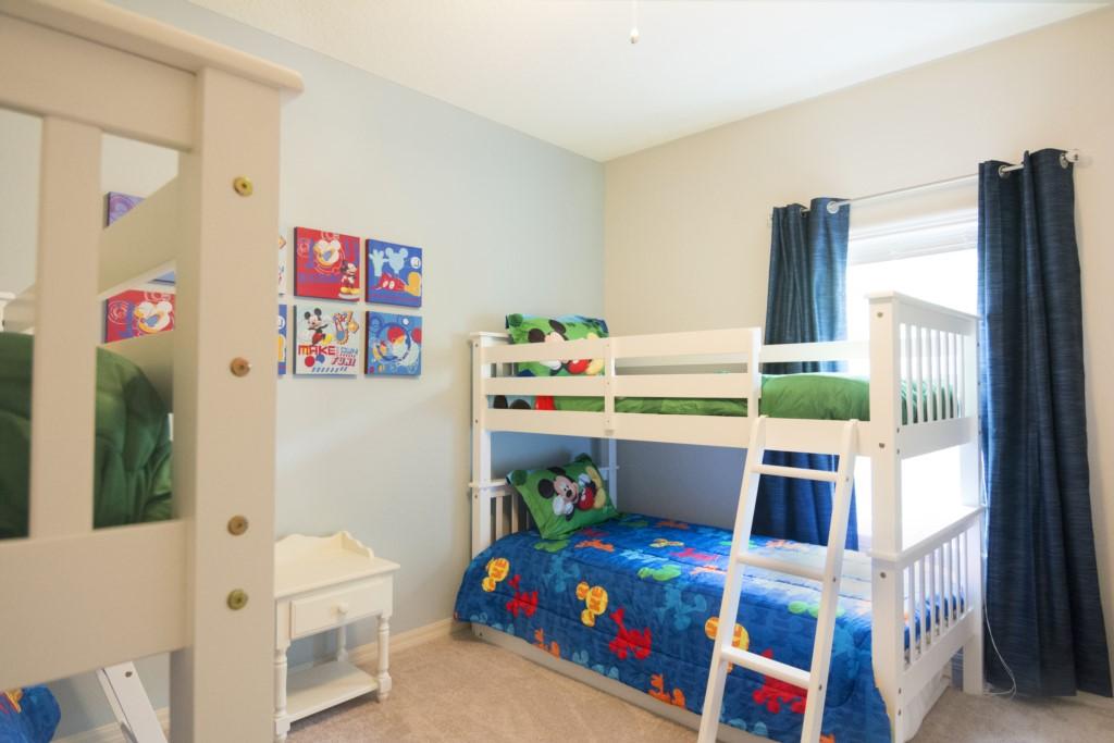 Bedroom 2 twin bunk beds