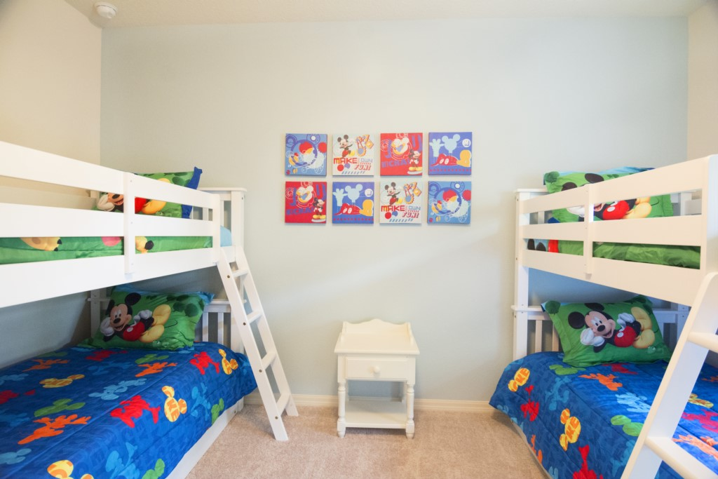 Bedroom 2 twin bunk beds