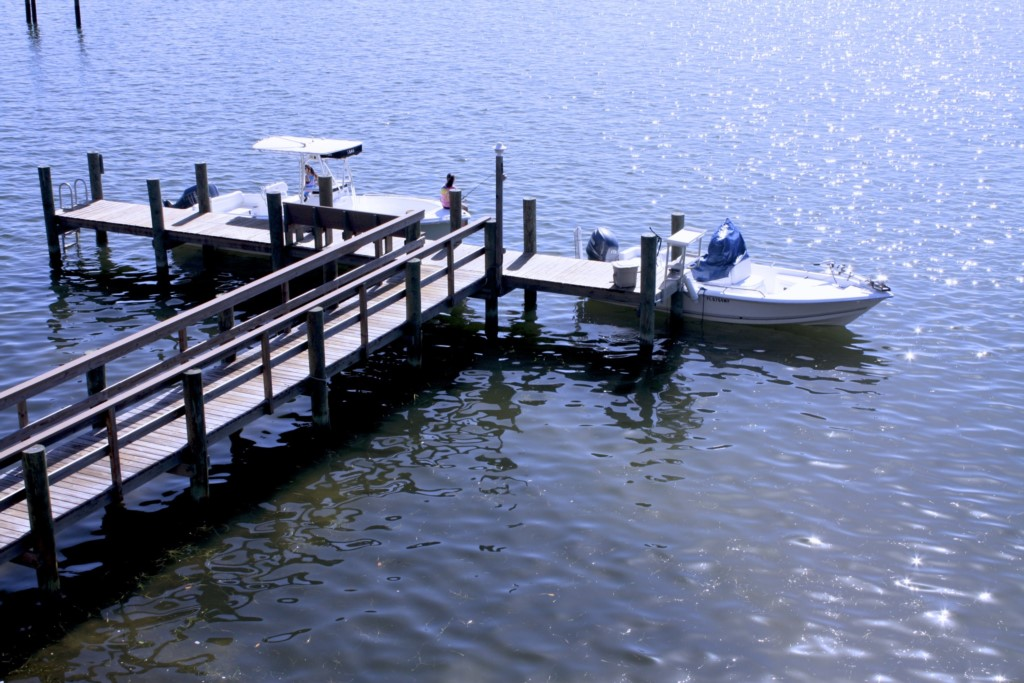 Your private boat and fishing dock