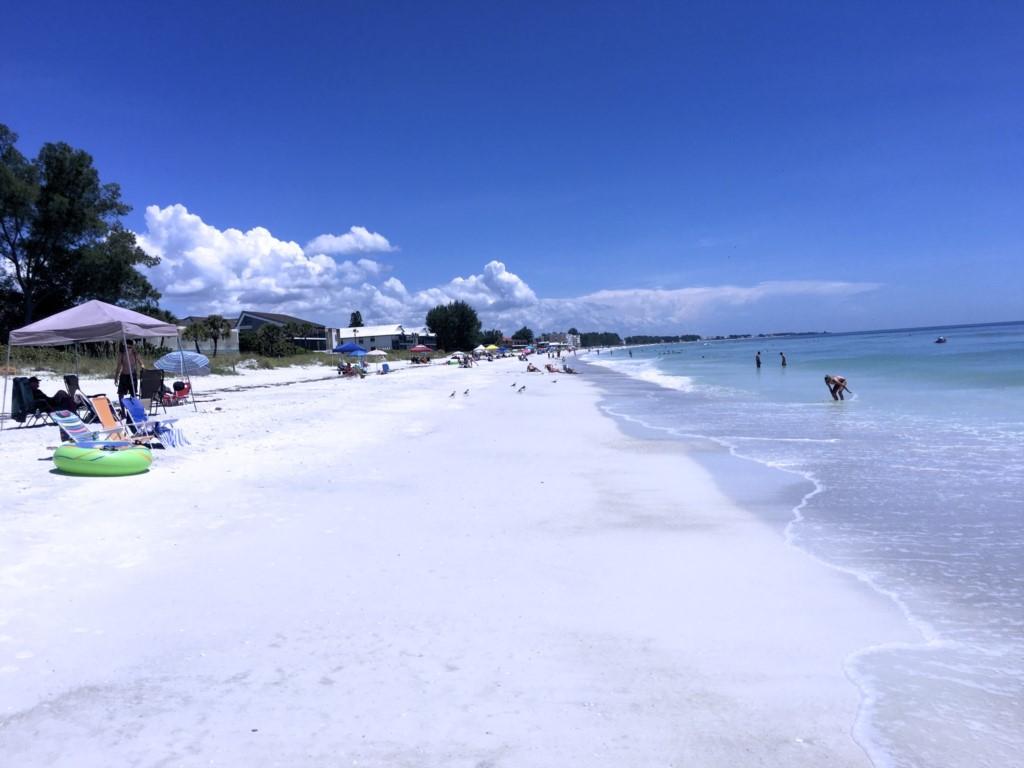 Endless white powder sand beaches