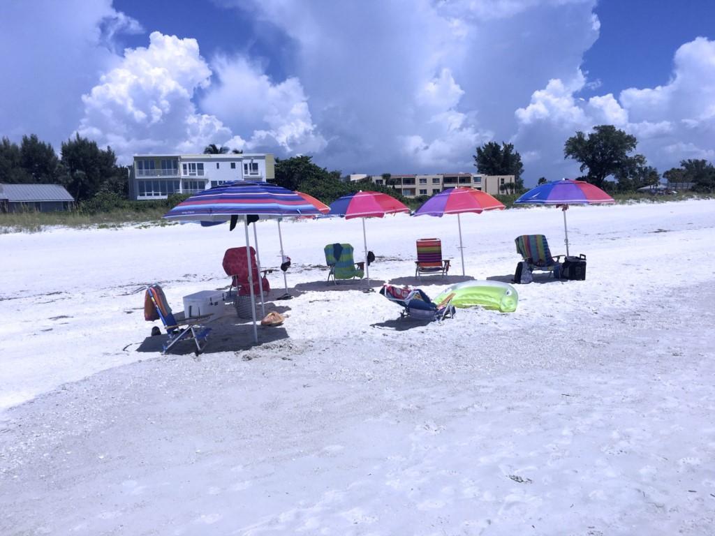 The beach awaits you on Anna Maria Island