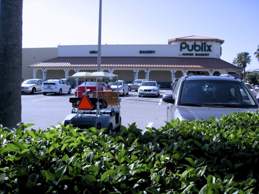 Publix grocery store just a five minute walk from the Beach Paradise on Anna Maria Island
