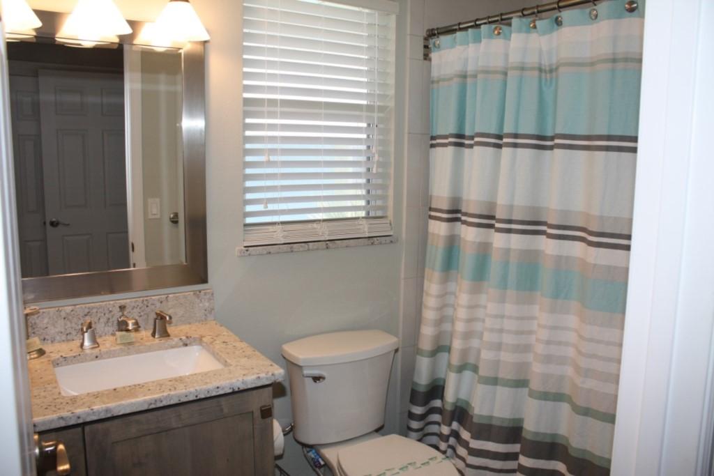 Second washroom with granite