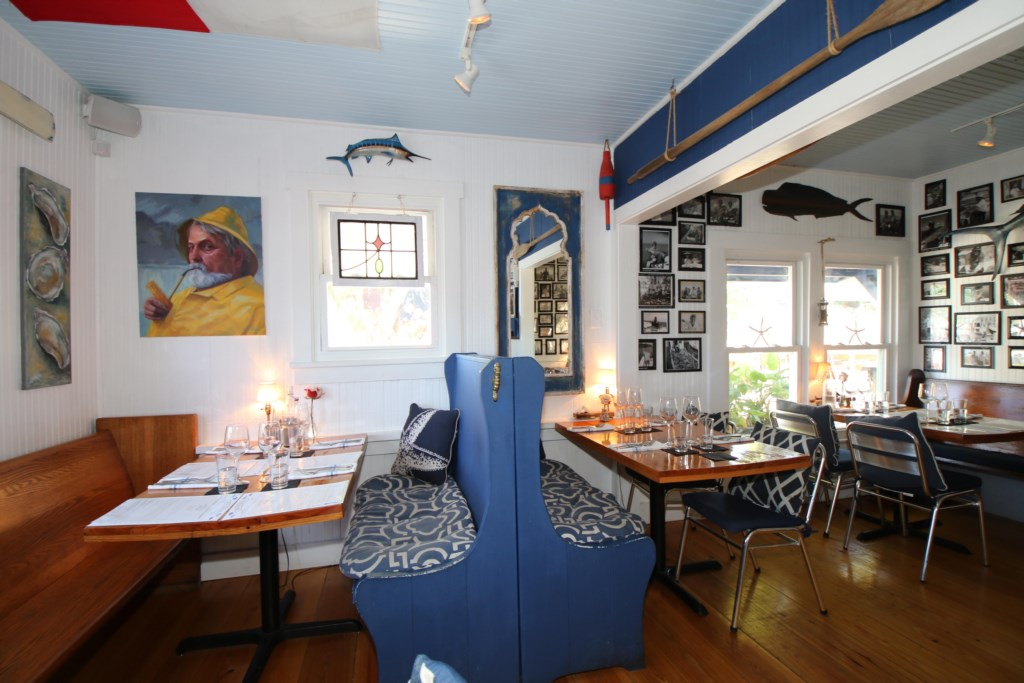 Blue Marlin Restaurant a five minute walk from the Beach Sands 101