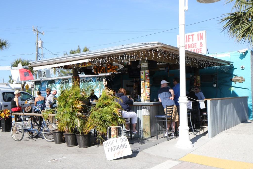 Drift Inn Bar a five minute walk from the Beach Sands 101