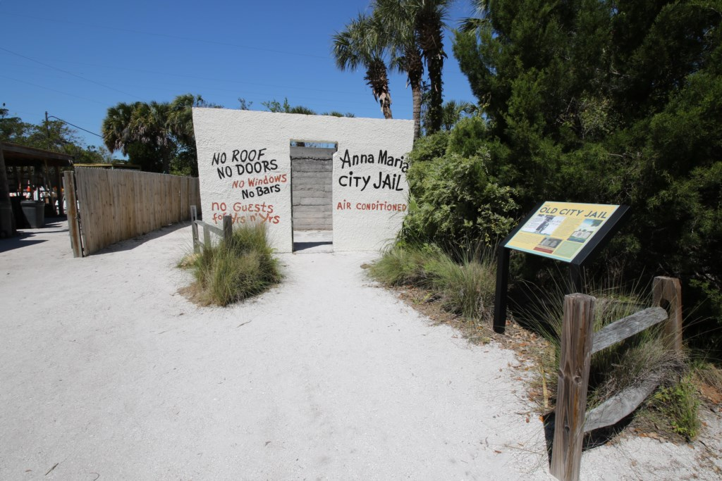 The orginal Anna Maria Island jail