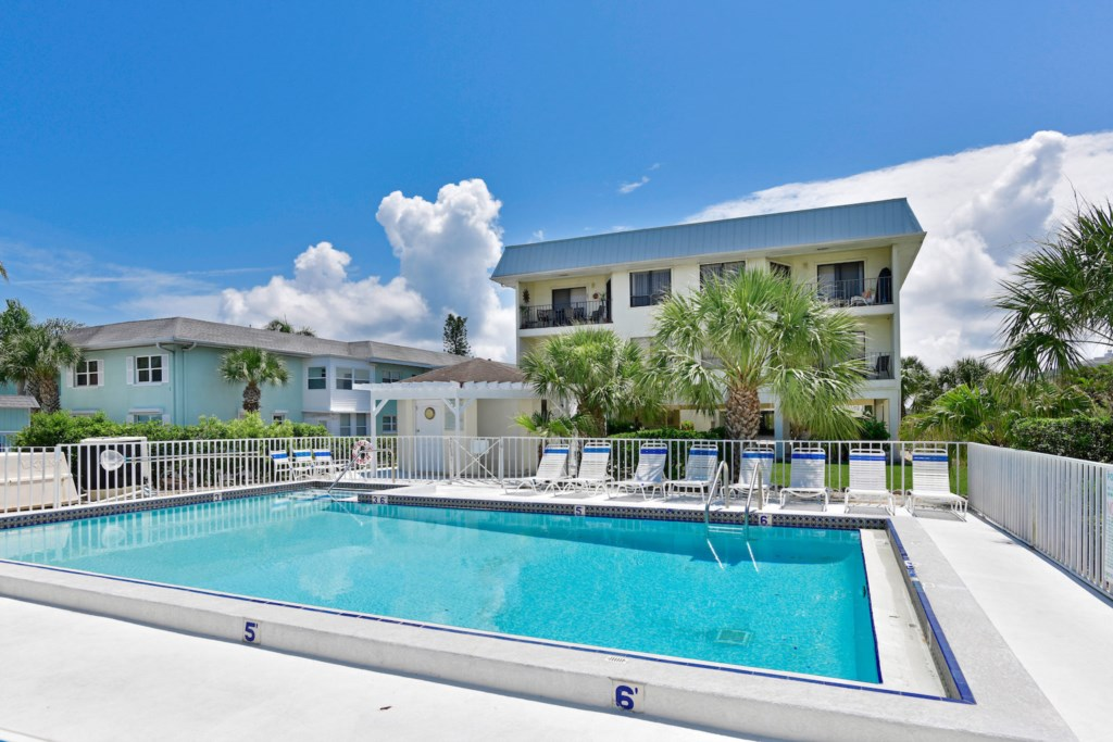 One Of The Largest Heated Pools On Anna Maria Island