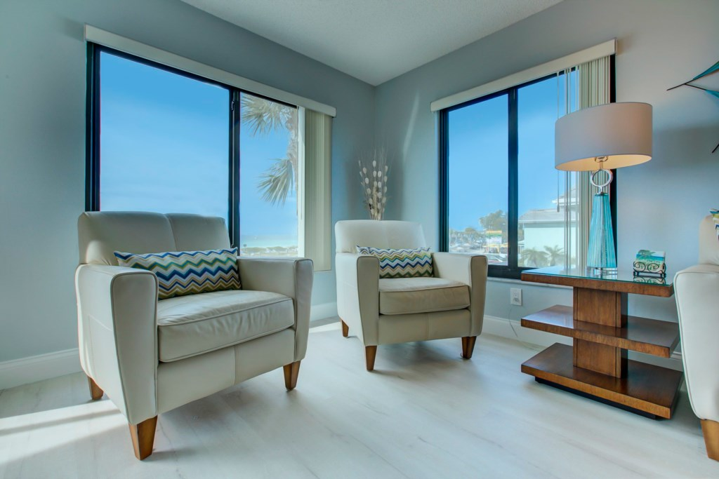 New Accent Chairs And The Gulf Of Mexico
