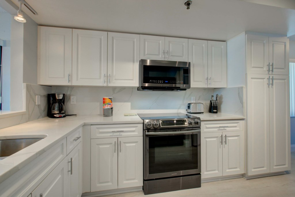 New Designer Kitchen-All New Graphite Appliances