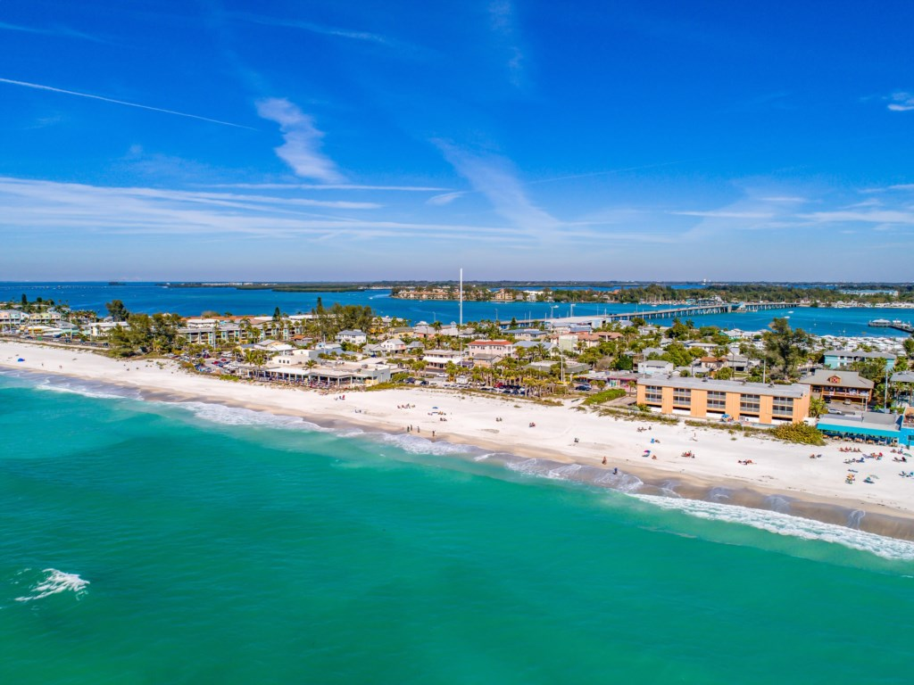 The Beach in-front of the Anna Maria Island Beach Sands condo