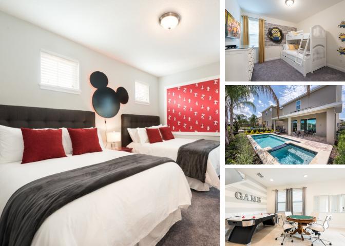 EC155- Modern 5 Bedroom Villa at the Encore Resort