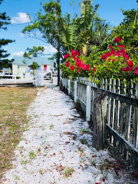 Path from Beach to Cottage
