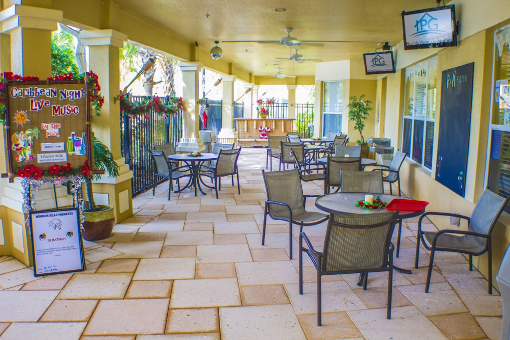 Windsor Hills Resort - Clubhouse Patio