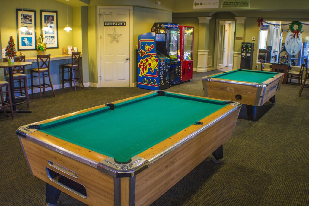 Windsor Hills Resort - Clubhouse Game Room (2)