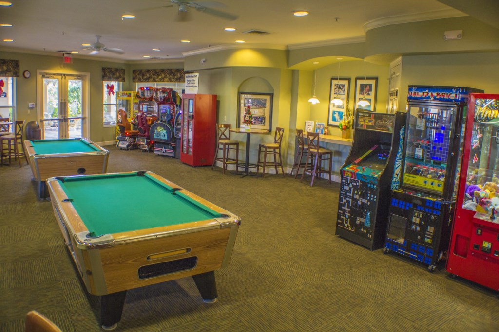 Windsor Hills Resort - Clubhouse Game Room (1)