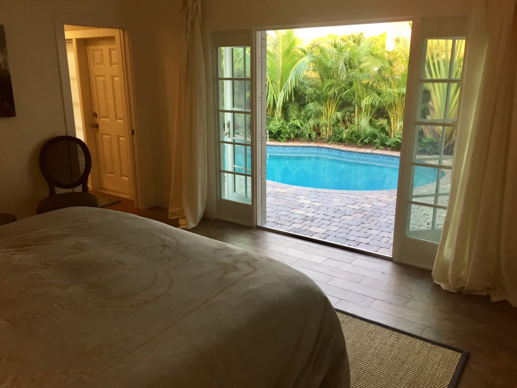 Master Bedroom with Pool View