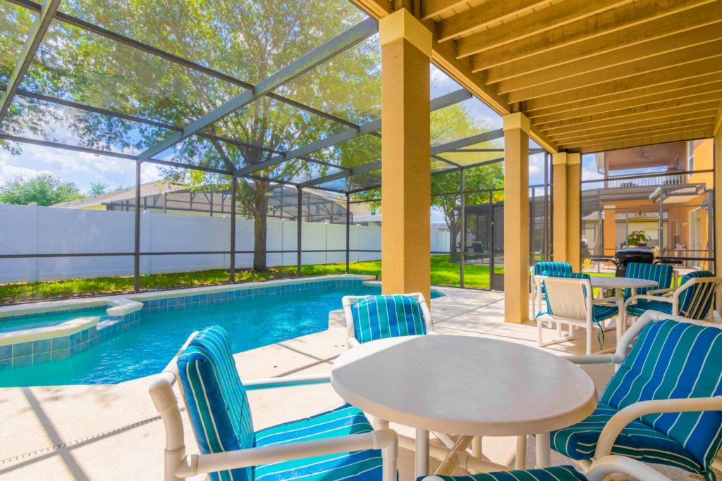 Walt's Magical West Haven Villa - Pool Dek & Lanai