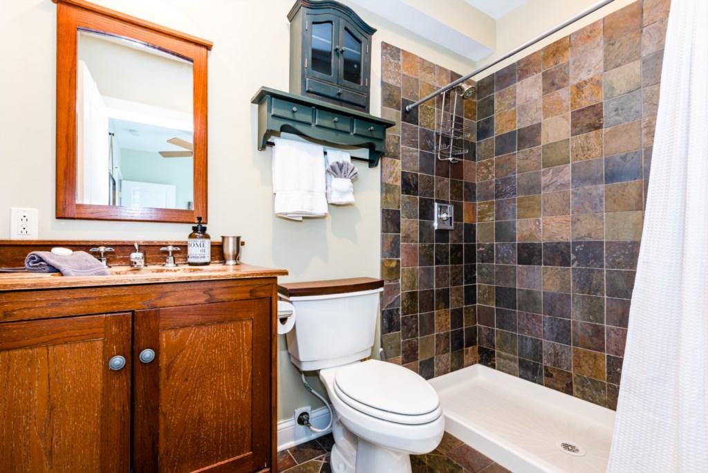 Main Floor Full Bathroom
