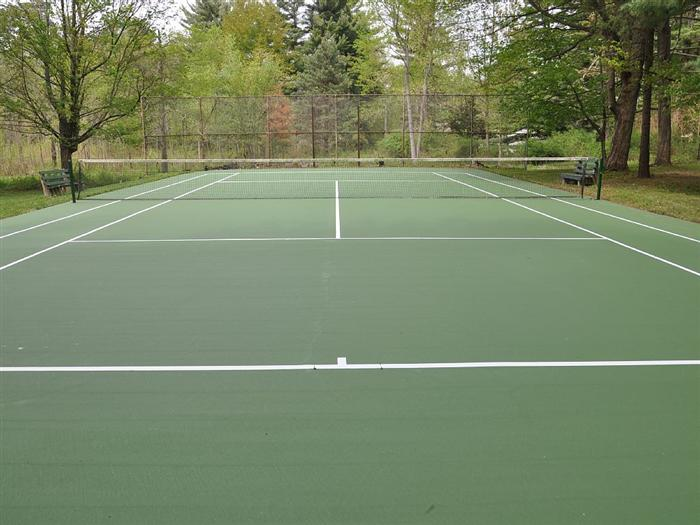 Private Tennis Court (Rackets provided)