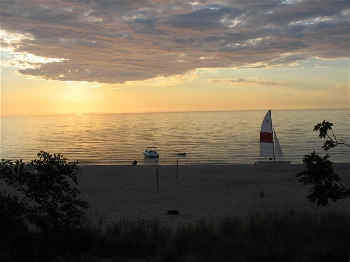 Lake Michigan Sunsets