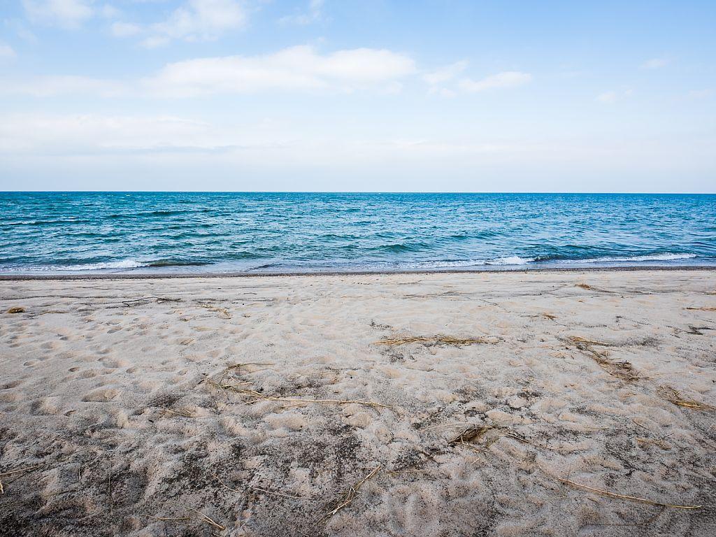 Lake Michigan awaits!