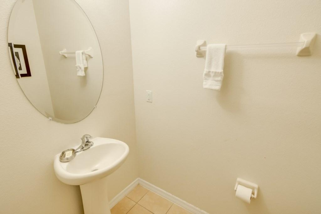Aladdin - Downstairs Half Bathroom
