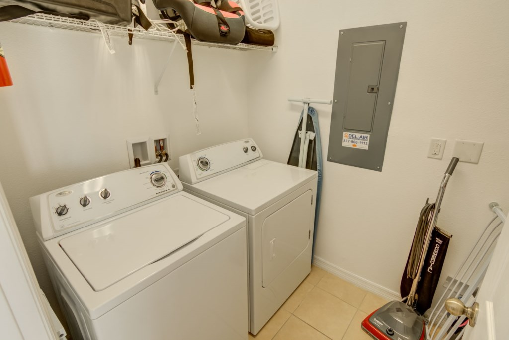 Aladdin - Laundry Room