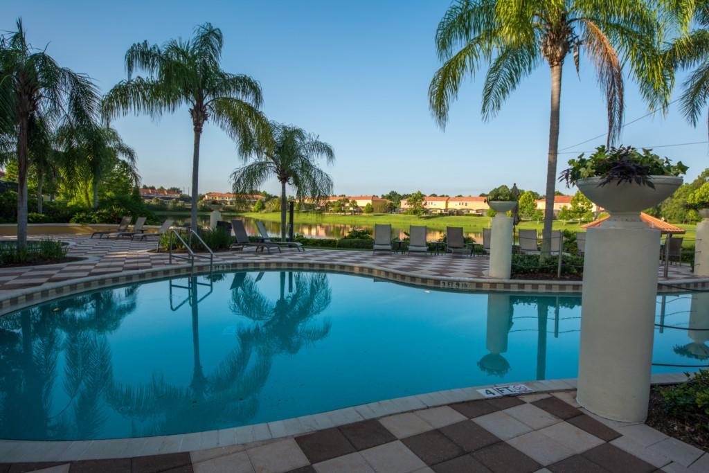 Pool Club House Area