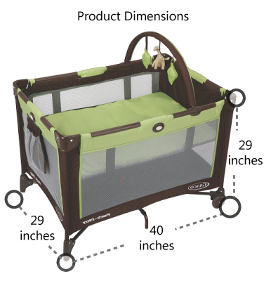Graco-Pack-n-Play-On-the-Go-Travel-Playard-Product-Dimensions