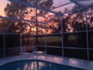 Sunsetfromthepooldeck