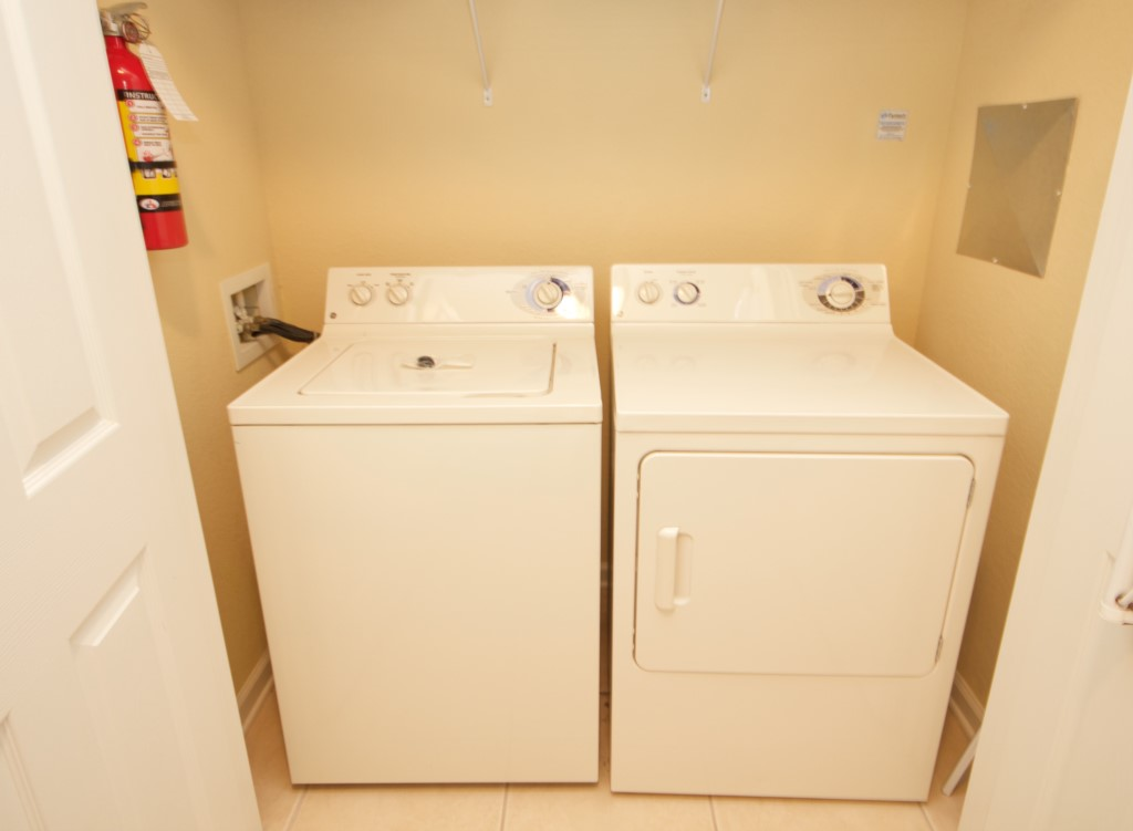 Full size laundry equip