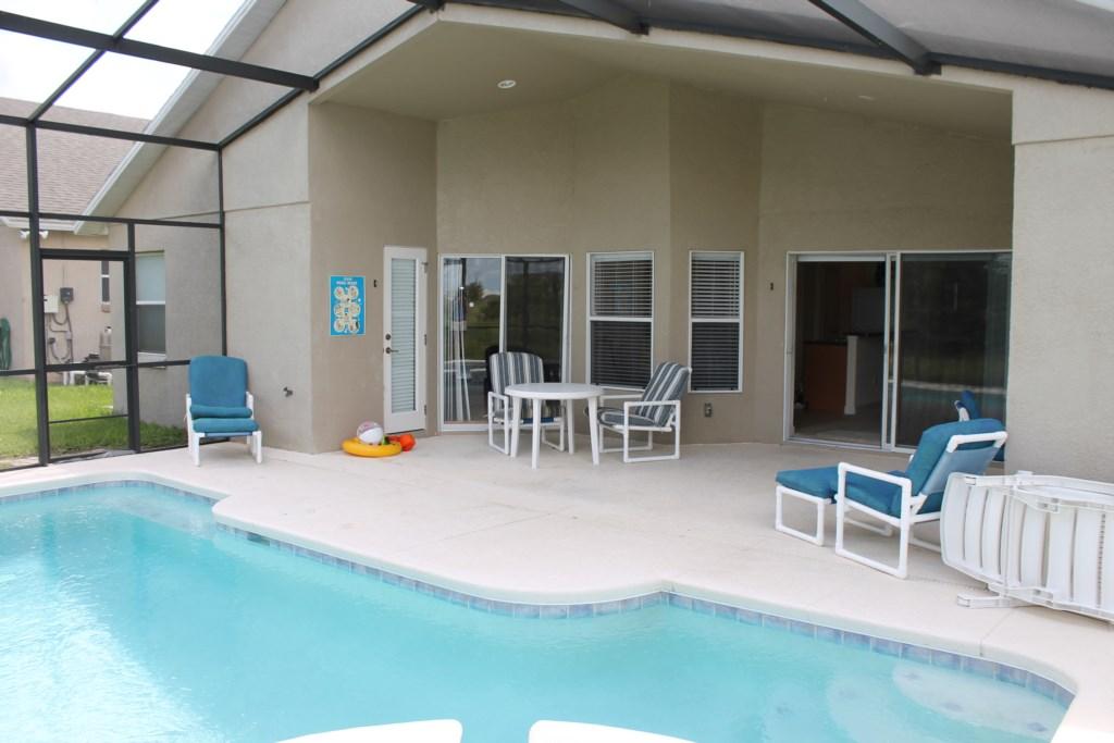 Lovely pool and lanai