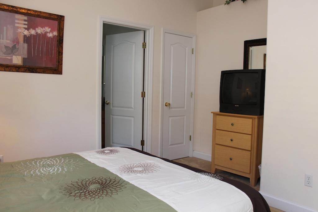 Second Master has TV and en suite bathroom