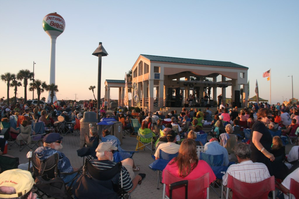 Enjoy a summer Tuesday night at Bands on the Beach
