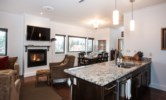 Alpenglow Penthouse - Open Concept Living, Dining and Kitchen
