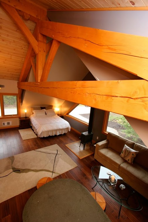 Timberloft - beautiful timber-framed construction