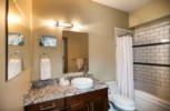 Downunder Mountain Retreat - Master Ensuite Bathroom with Bath and Shower