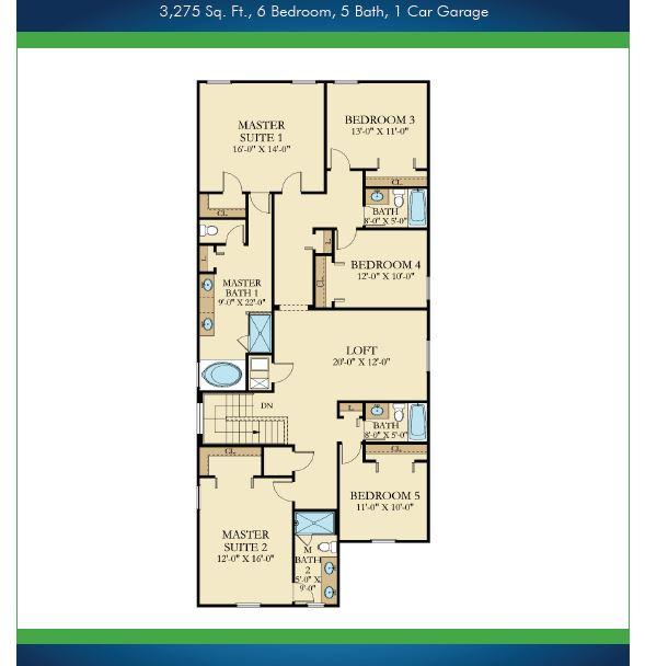 Paradise Palms 6 Bedroom Floor Plan 2nd Floor.JPG