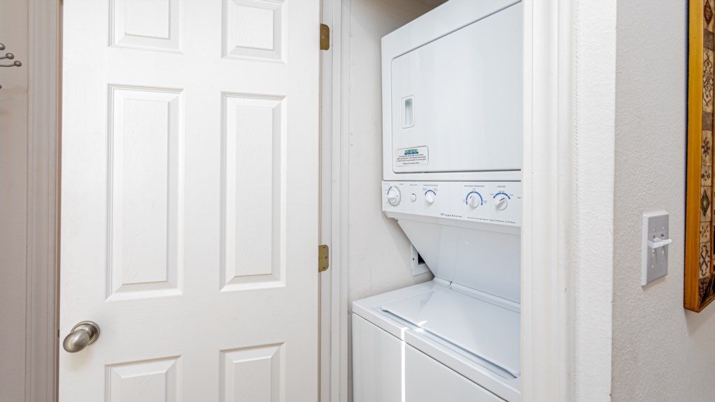 Laundry in your unit