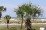 View of the Gulf from the from deck and entrance