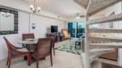 Open designed living area