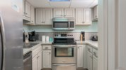 Fully equipped kitchen with a Keurig coffee maker