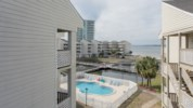 Views of the Pool, lake an Pensacola Bay