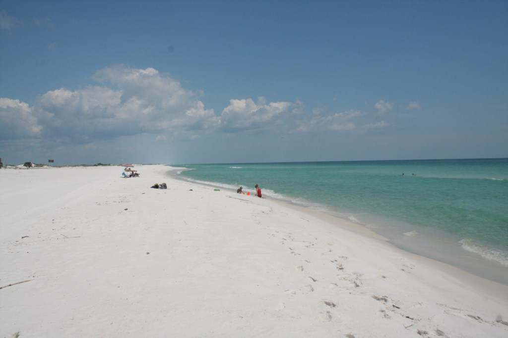 BEAUTIFUL BEACH AND GULF OF MEXICO